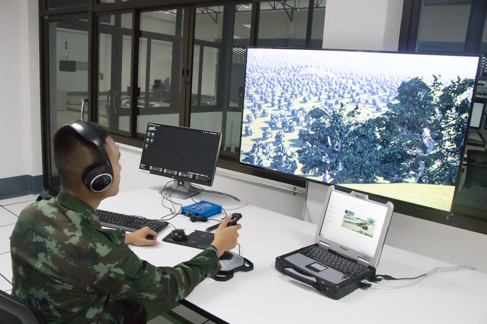 <p>Bagira Joint Fires App for Royal Thai Army integrated with the end user's C4I system.</p>