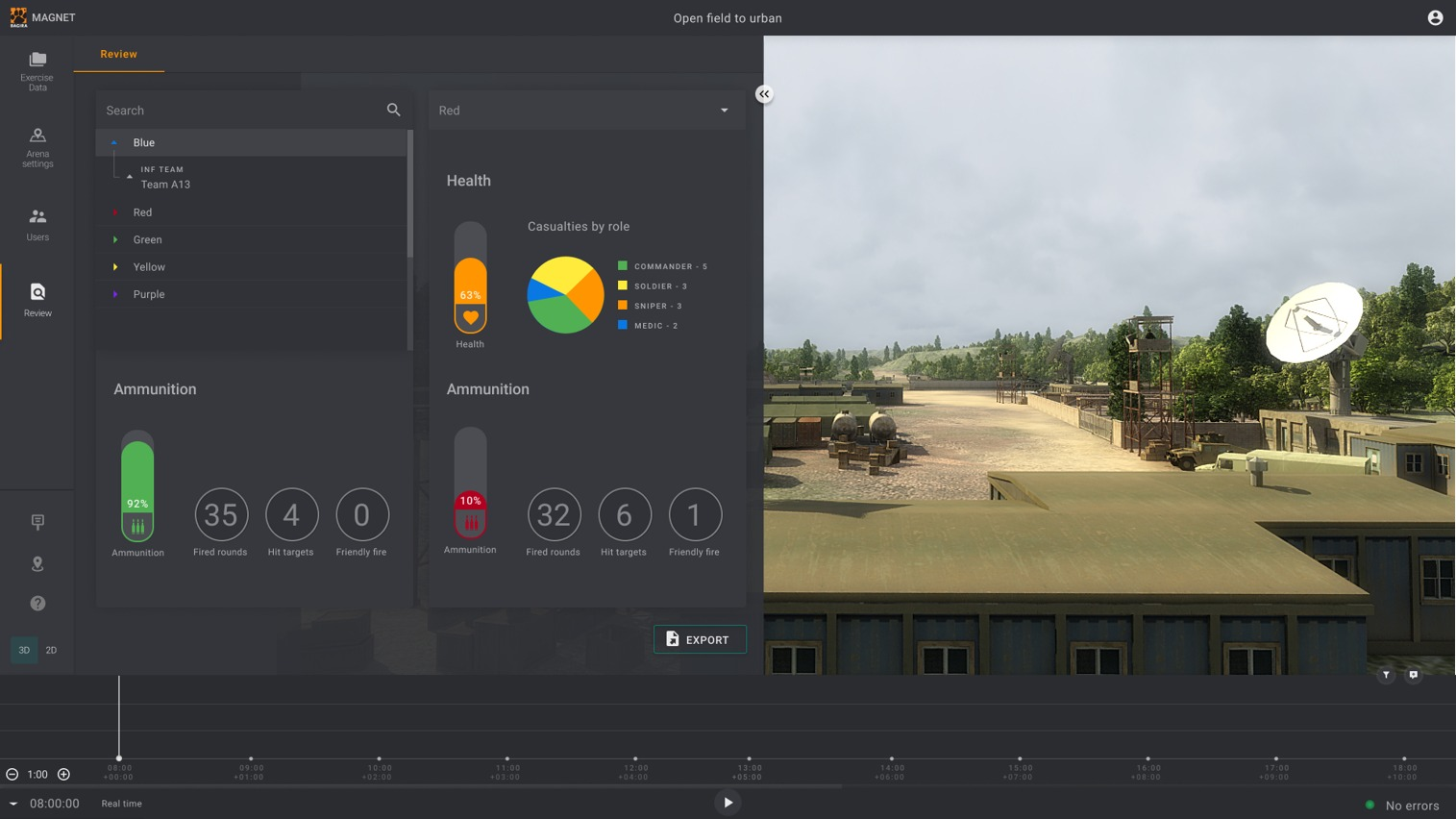 Live Training Control App (MAGNET)  gallery