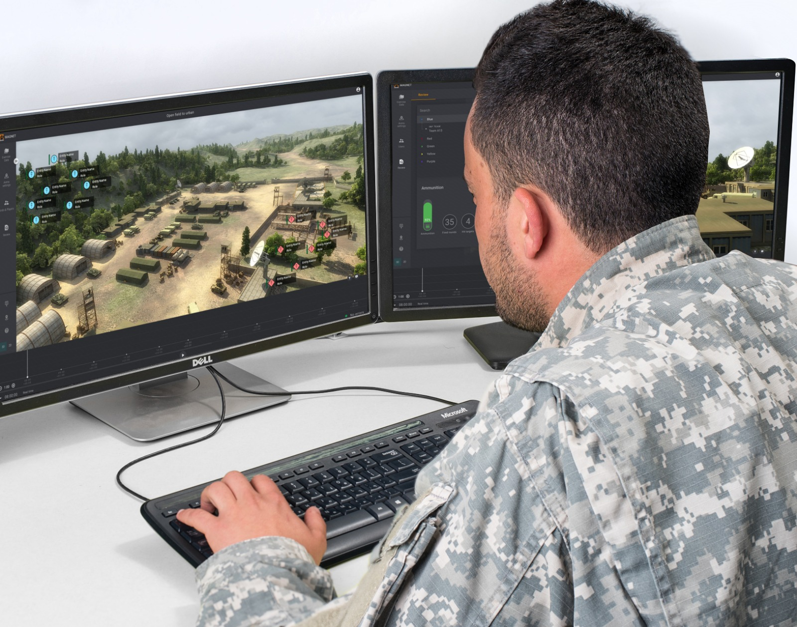 MAGNET <br>Live Training System (LTS) gallery